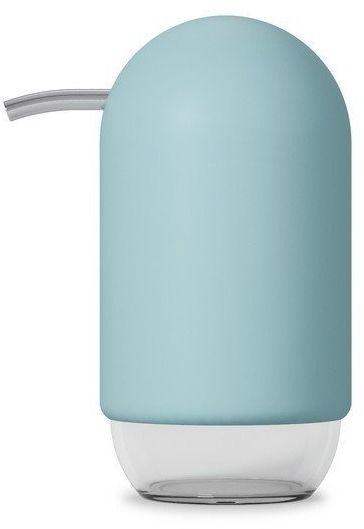 Umbra - dozownik na mydło - touch - czarny - niebieski