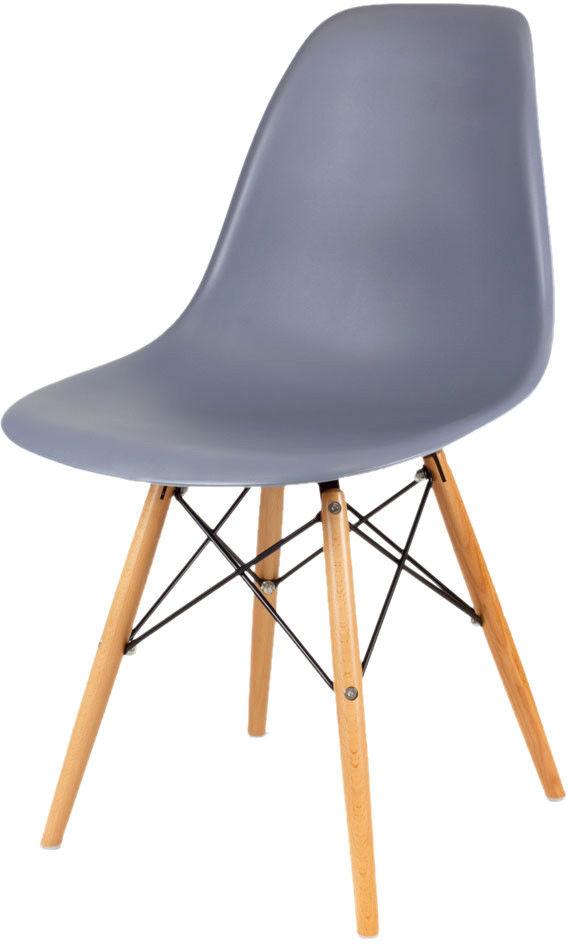 Sk Design Kr012 Ciemnoszare Krzesło Buk