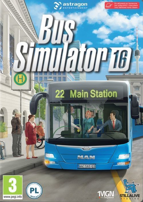Bus Simulator 16 (PC) PL klucz Steam