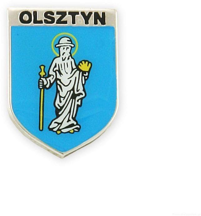 Herb Olsztyn - przypinka
