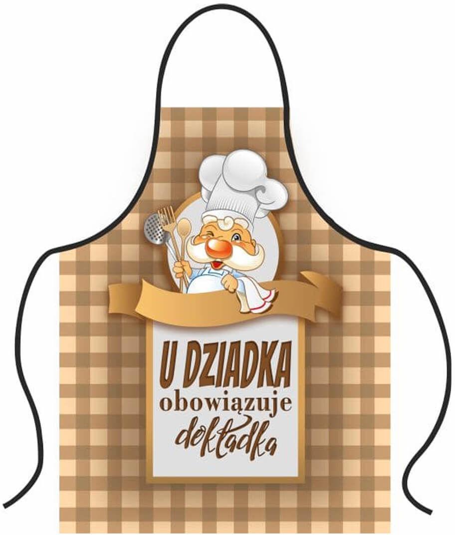 Fartuch kuchenny Premium U Dziadka obowiązuje dokładka