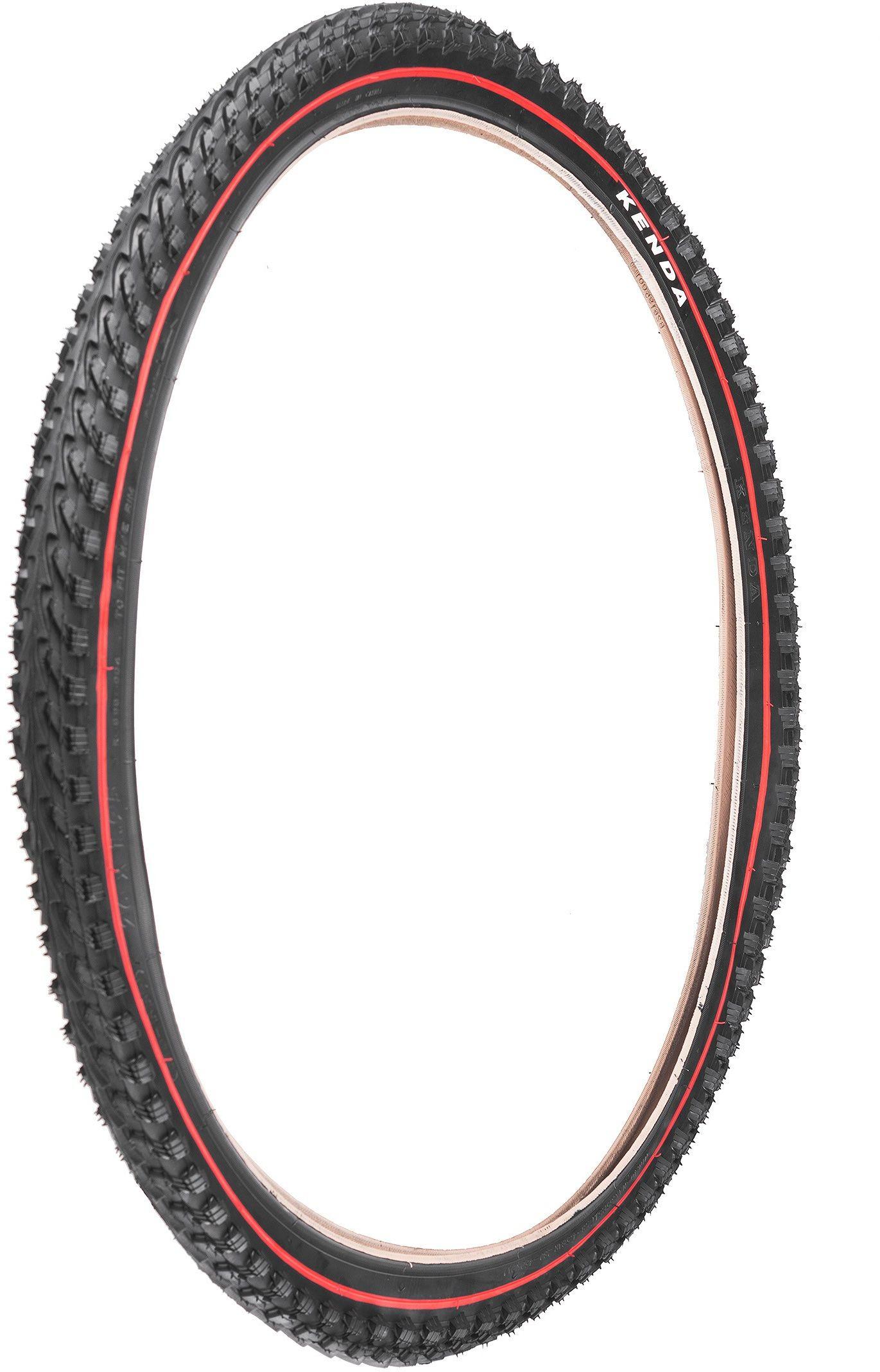 Opona rowerowa 26 x 1,95 KENDA K-898 czerwony pasek