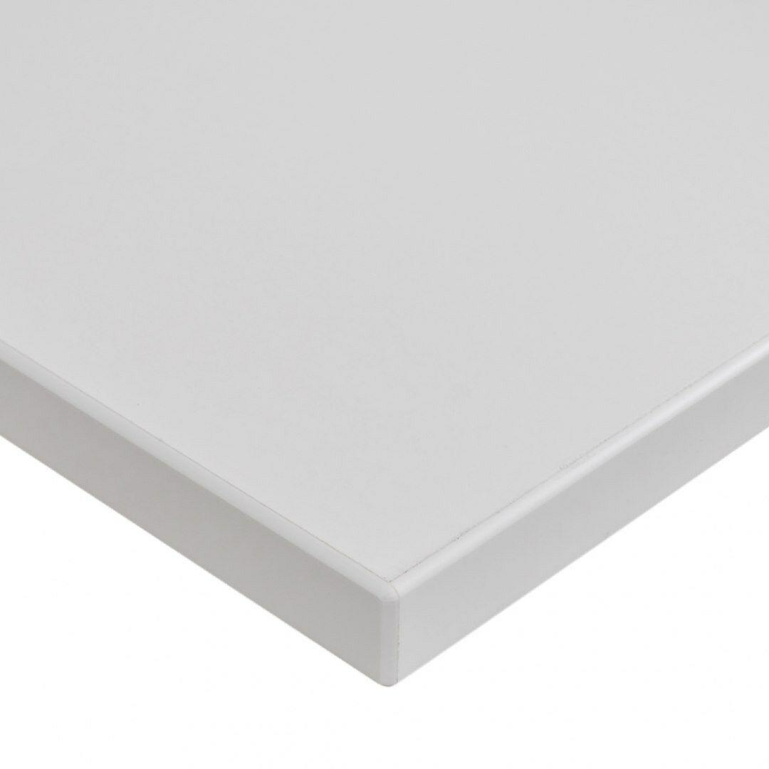 Blat biurka uniwersalny 158x70x1,8 cm Biały