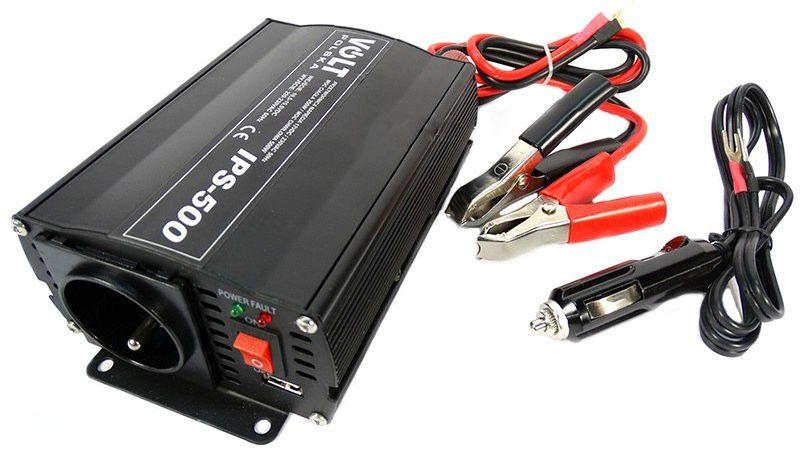 Przetwornica napięcia prądu IPS-500 (24V/230V/500W) VOLT POLSKA