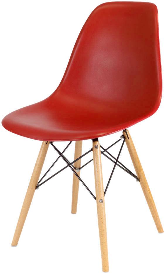 Sk Design Kr012 Ceglaste Krzesło Buk