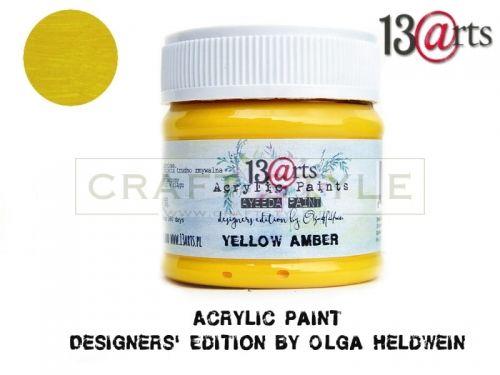 Farba akrylowa 50 ml Yellow Amber