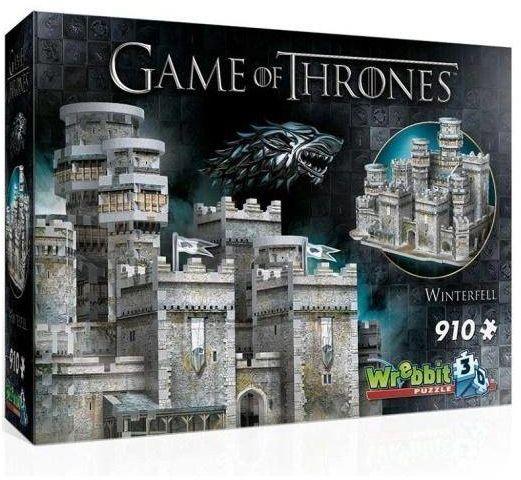 Wrebbit Puzzle 3D 910 el Gra o Tron Winterfell - Tactic