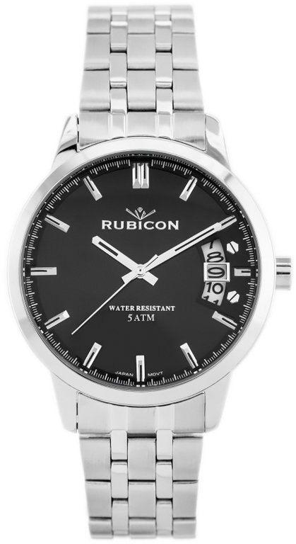 ZEGAREK MĘSKI RUBICON RNDD82SIBX (zr083c)