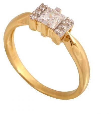 Złoty pierścionek zaręczynowy Pi120