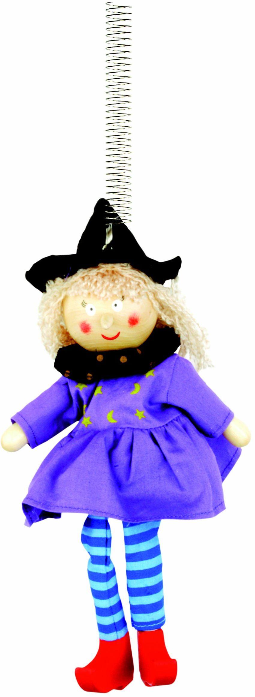 Bino 89532 - figurka dekoracyjna, czarownica