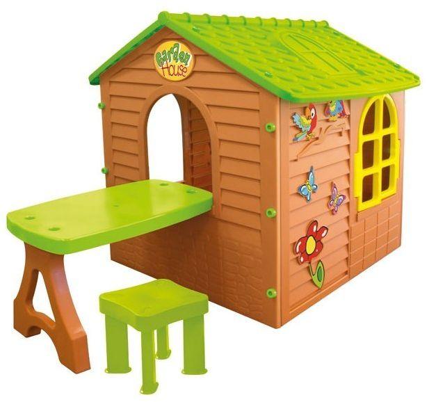 Mochtoys Domek Ogrodowy dla Dzieci Ze Stolikiem