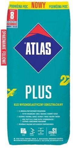 Klej wysokoelastyczny ATLAS PLUS nowy 25 kg