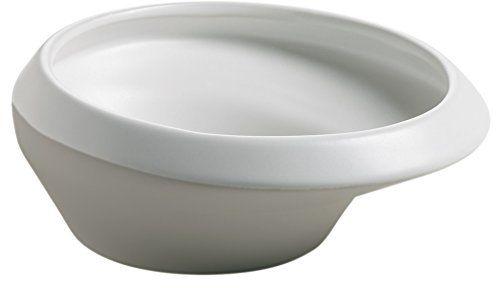 Maxwell & Williams Parts miska ceramiczna, szara, biała, 17,5 x 17,5 x 6,5 cm