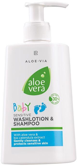 Aloe Vera Baby Emulsja myjaca i szampon dla dzieci 250ml
