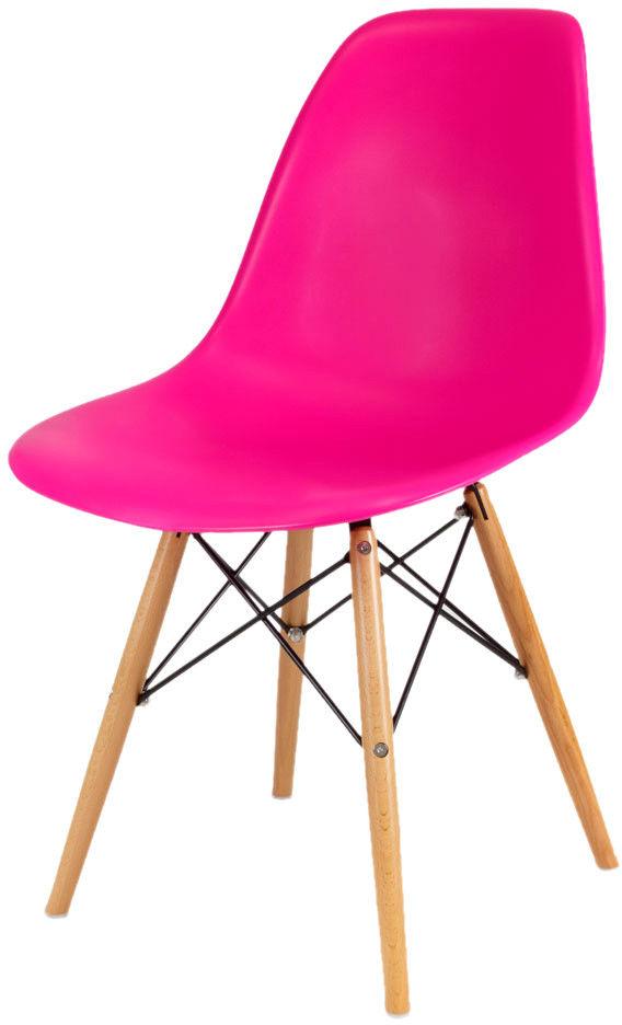 Sk Design Kr012 Ciemnoróżowe Krzesło Buk