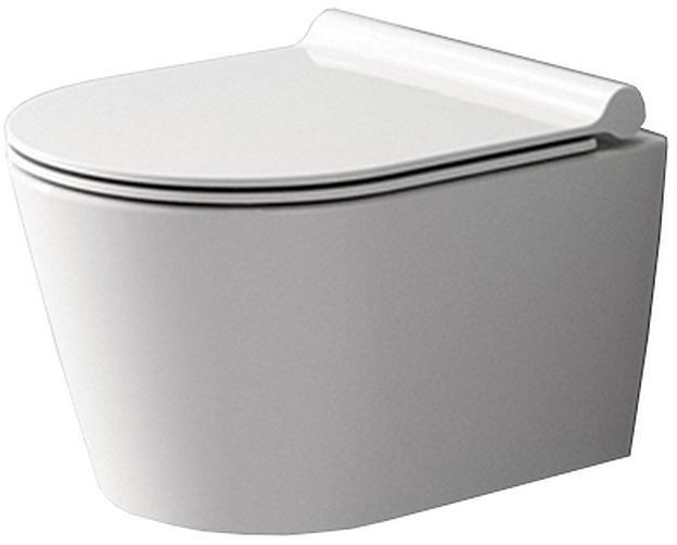Miska WC podwieszana bezrantowa z deską Porter Rimless Rea (REA-C1401)