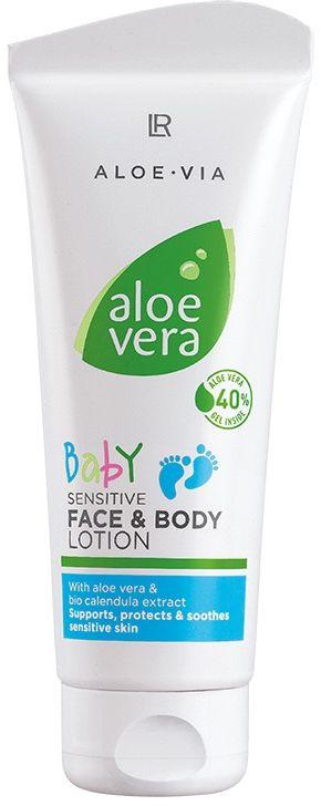 Aloe Vera Baby Krem do twarzyi ciała dla dzieci 100ml