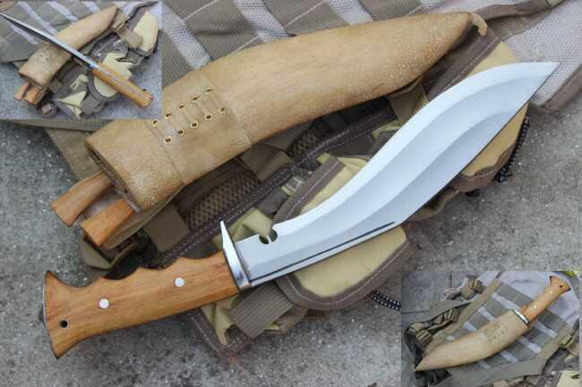 Prof nóż Gurkhów khukri misja w Iraku EKH-GACI-20