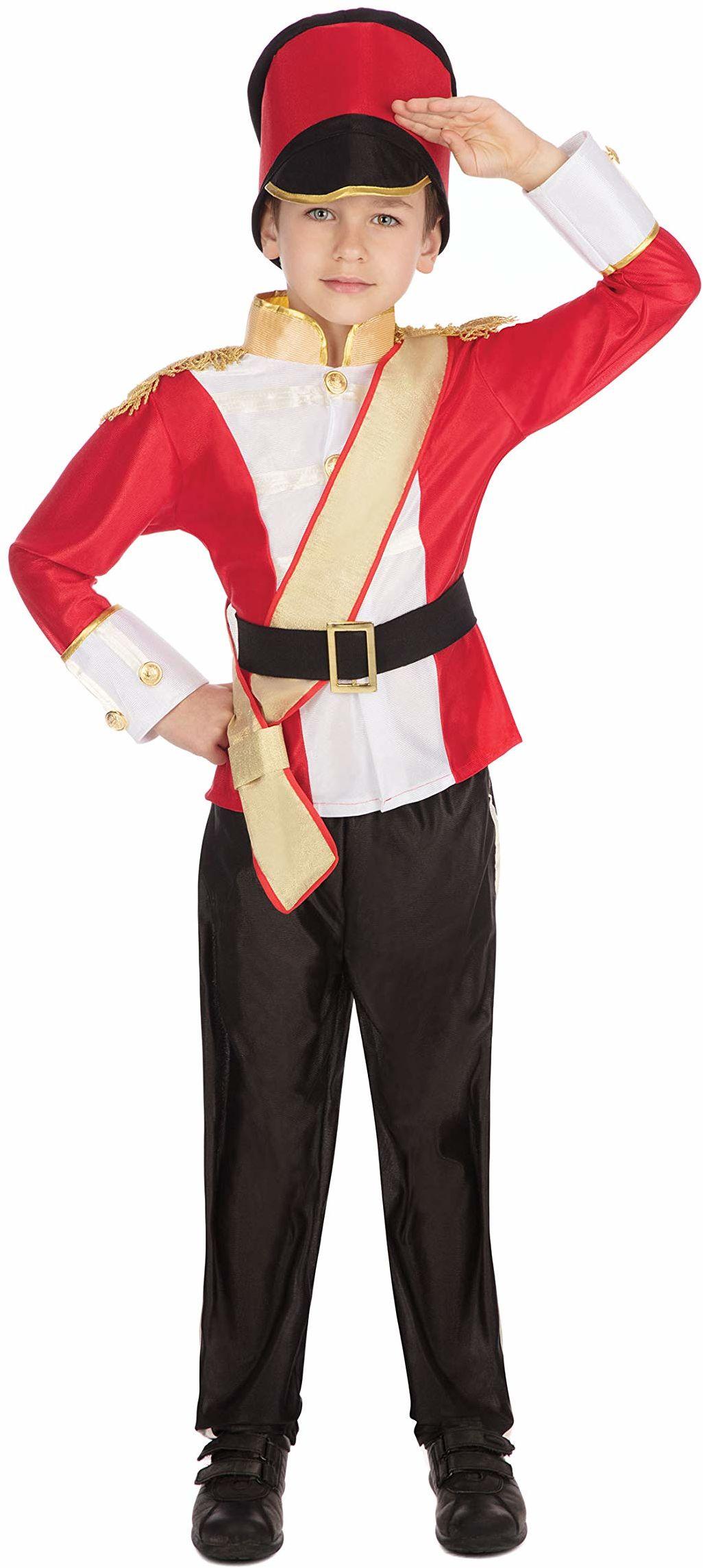 Bristol Novelty CC683 kostium dziecięcy żołnierza (mały), około wiek 3-5 lat, zabawka kostium żołnierza dla dzieci (S)