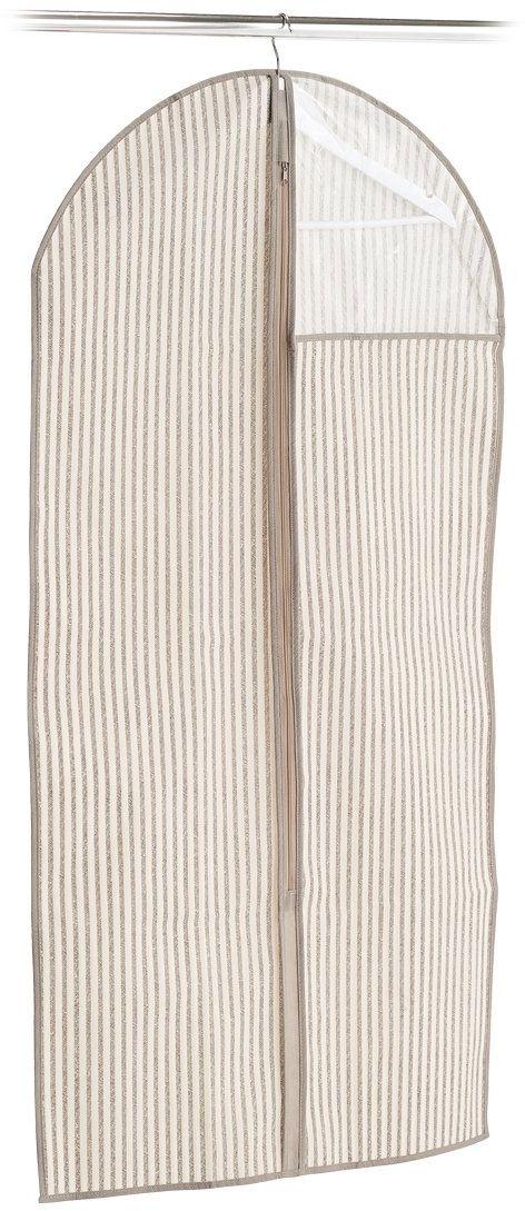Zeller pokrowiec na ubrania, beżowy, 60 x 120 cm