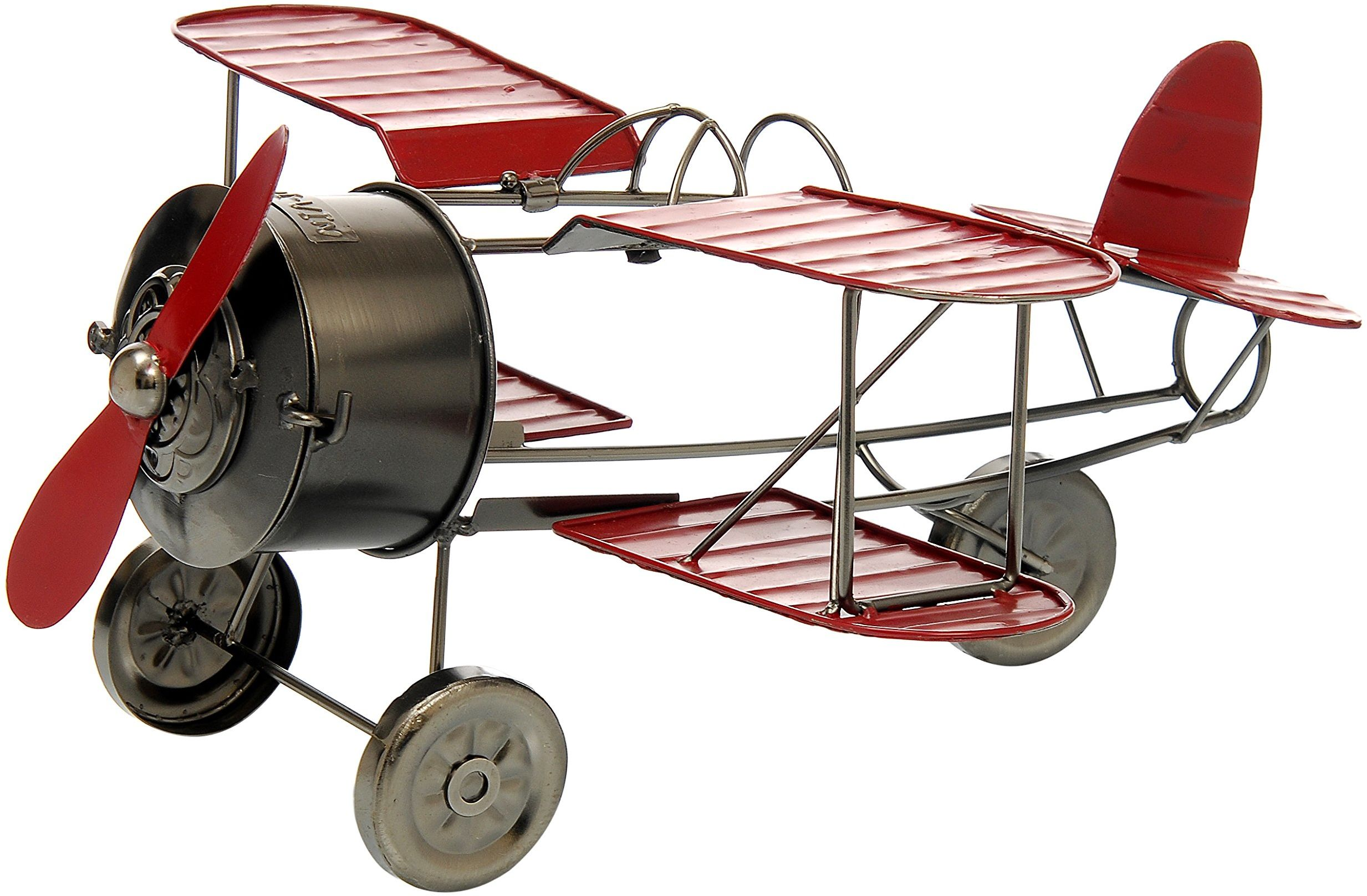 ludi-vin Uchwyt na butelki metalowy samolot