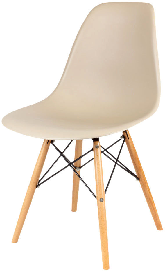 Sk Design Kr012 Beżowe Krzesło Buk