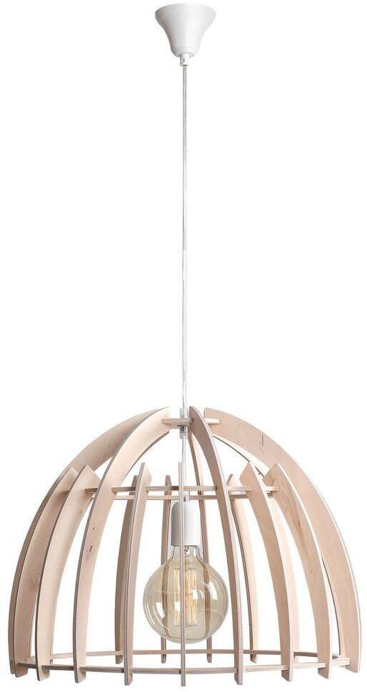 Lampa wisząca FOREST 970G Aldex drewniana ażurowa oprawa w dekoracyjnym stylu