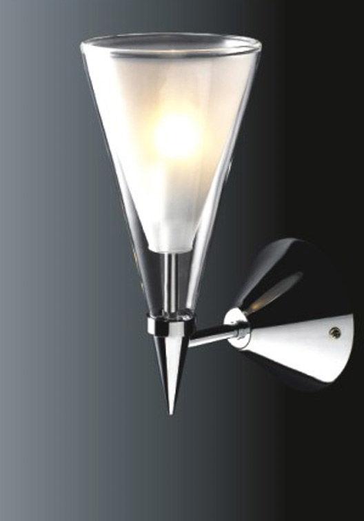 Italux kinkiet lampa ścienna Butio MB9190-1A chrom szkło