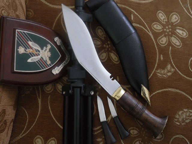 Prof nóż Gurkhów khukri policyjny NKH-NAPK-04