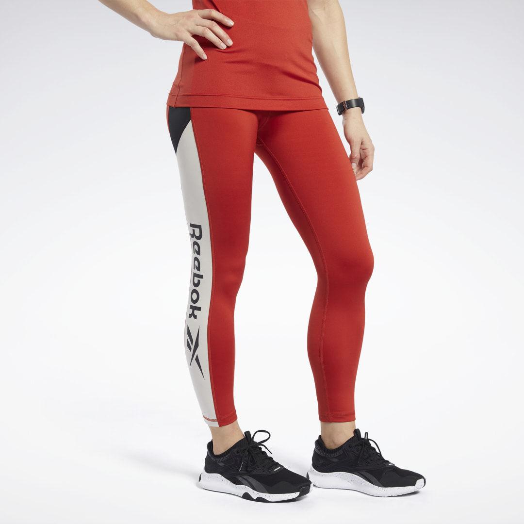Reebok Legginsy Workout Ready Logo