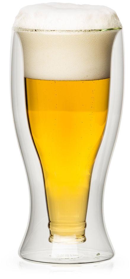 4home Szklanka termiczna do piwa Hot&Cool, 500 ml, 1 szt.