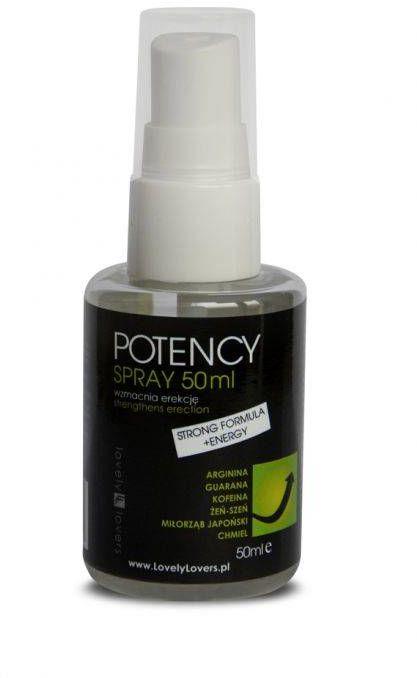 Spray POTENCY Erekcja i Potencja 50ml 100% DYSKRECJI BEZPIECZNE ZAKUPY