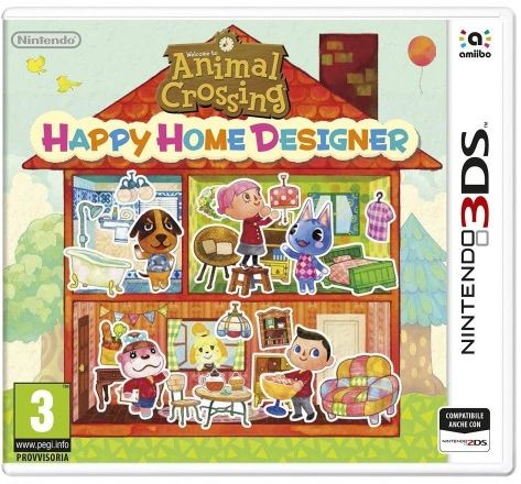 Animal Crossing Happy Home Designer 3DS