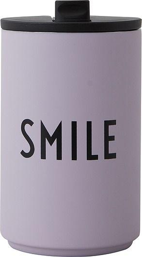 Kubek termiczny design letters smile