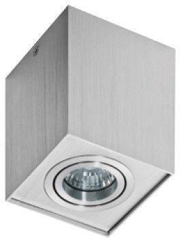 Plafon Eloy AZ0991 AZzardo nowoczesna oprawa w kolorze aluminium