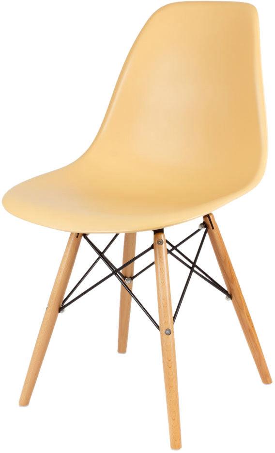 Sk Design Kr012 Piaskowe Krzesło Buk