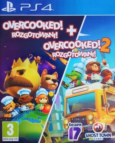 Overcooked & Overcooked 2 PS 4