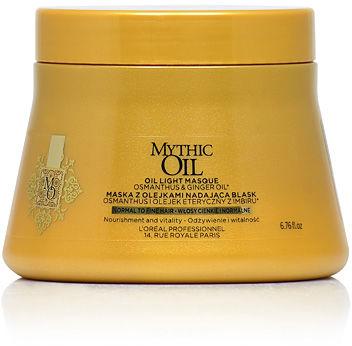 Loreal Mythic Oil Maska do włosów cienkich i delikatnych 200 ml
