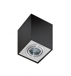 Plafon Eloy AZ0930 AZzardo nowoczesna oprawa w kolorze czarnym