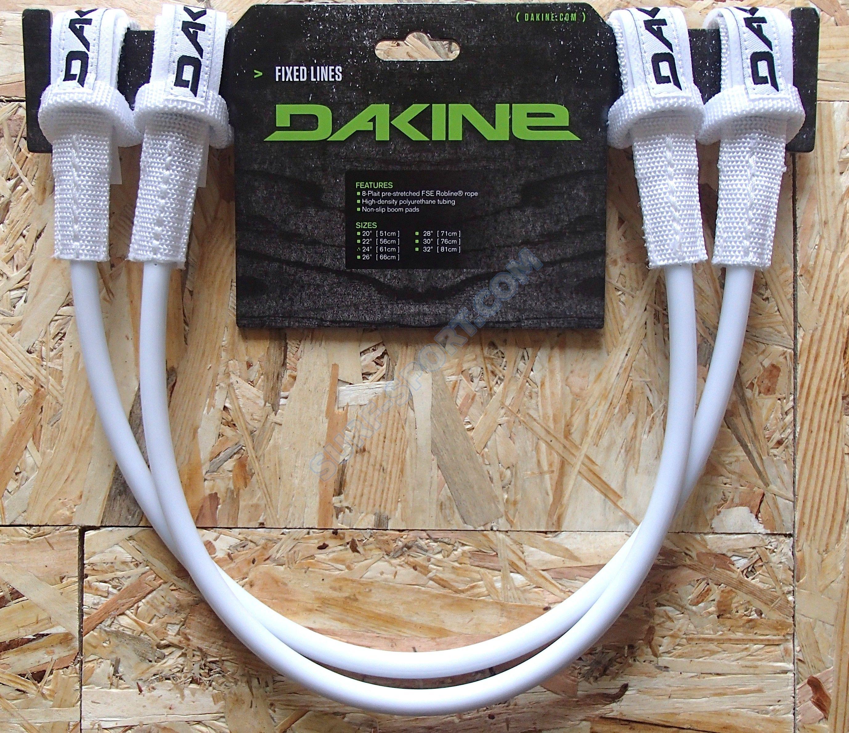 Linki trapezowe Dakine Fixed White- Stałe
