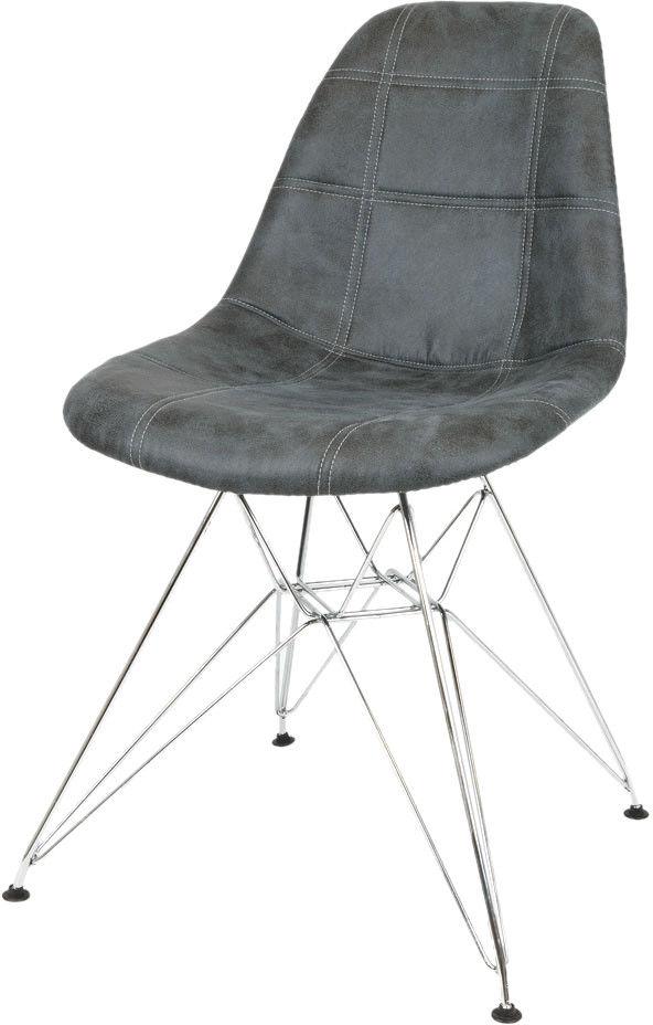 Sk Design Kr012 Krzesło Patchwork Eko Eames Chrom