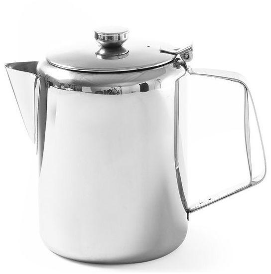 Dzbanek stalowy do kawy/herbaty z pokrywką