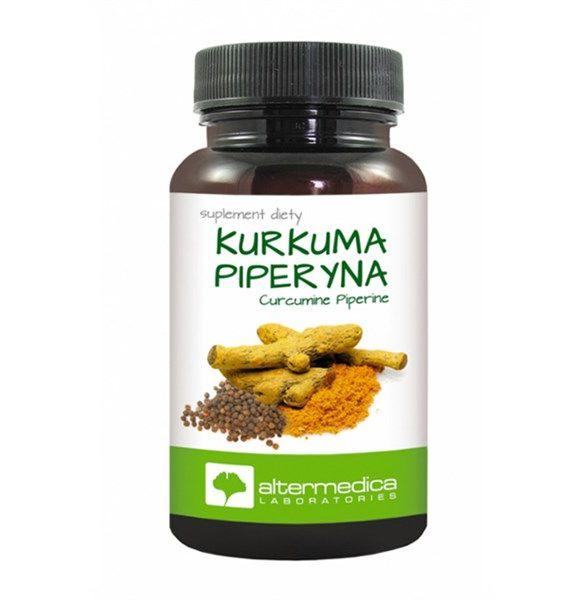 Kurkuma Piperyna (Curcuma longa&Piper nigrum) 60 kap
