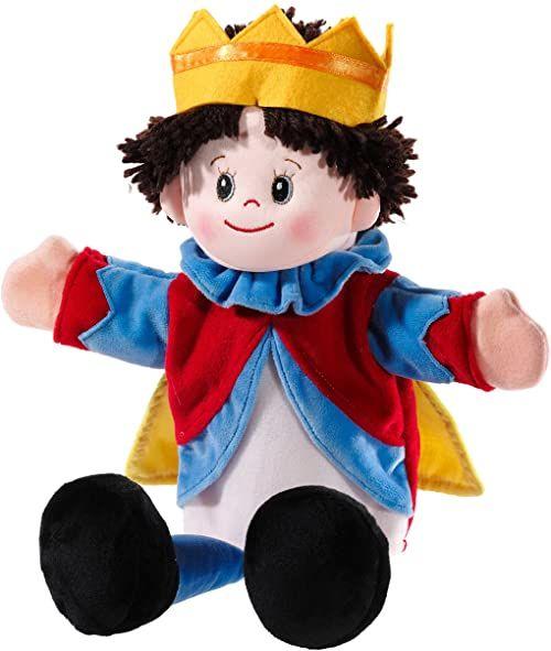 Heunec 395374 pluszowe zwierzątko do zabawy, teatru dla lalek, książa, kolorowa