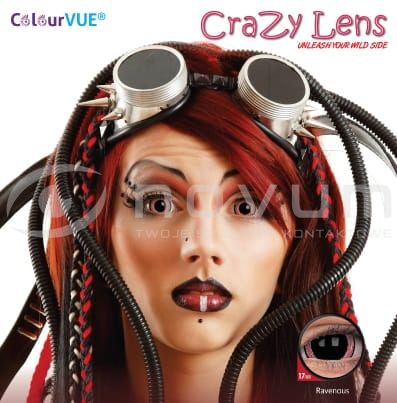 ColourVue Crazy 17 mm - 2 sztuki