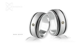 Obrączki srebrne - wzór Ag-075