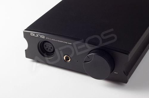Aune X7s - zbalansowany wzmacniacz słuchawkowy (czarny)