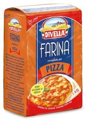 Divella Farina Tipo 00 Pizza - Mąka do pizzy (1 kg)