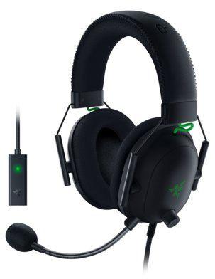 Słuchawki RAZER BlackShark V2 + USB Mic Enhancer. AKCESORIA W ZESTAWIE DO 40%! ODBIÓR W 29 min! DARMOWA DOSTAWA DOGODNE RATY SPRAWDŹ!