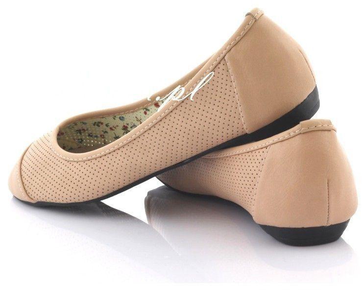 Baletki, balerinki Dziurki Pink Y6623A